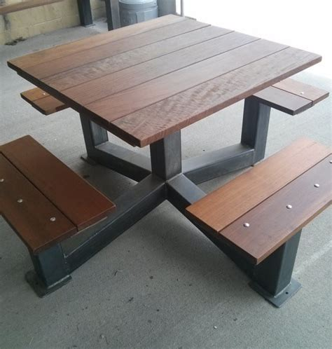 outdoor restaurant picnic tables outdoor modern industrial style picnic table the