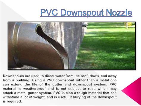 decorative downspout nozzle pvc downspout nozzle