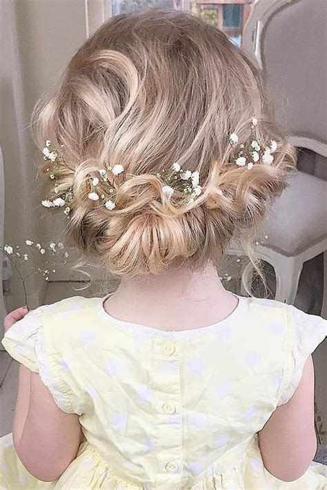 hairstyles for little girl for wedding 22 adorable flower girl hairstyles to get inspired