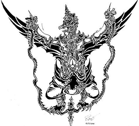 tato wayang keren gambar phoenix tattoo design 12 gambar garuda tato di