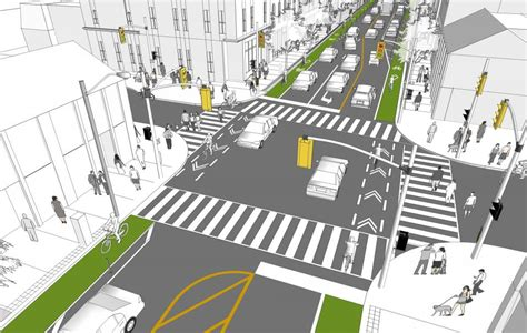 city of boston s complete street design guidelines urban bloor street bike lane pilot project proposed for summer