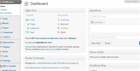 tutorial wordpress pemula berita bekakas tutorial wordpress untuk pemula