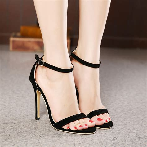 Sandal Sendal Wedges 2 Color ultra thin ankle stiletto sandals on luulla