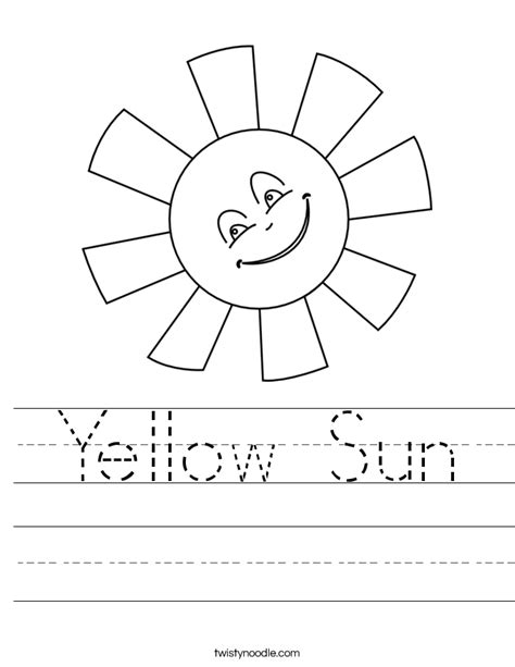Coloring Pages Twisty Noodle Yellow Sun Worksheet Twisty Noodle by Coloring Pages Twisty Noodle