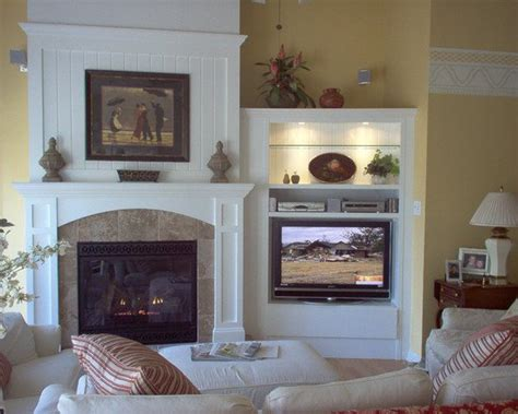 tv next to fireplace inspiring fireplaces with tv 7 fireplace with tv design