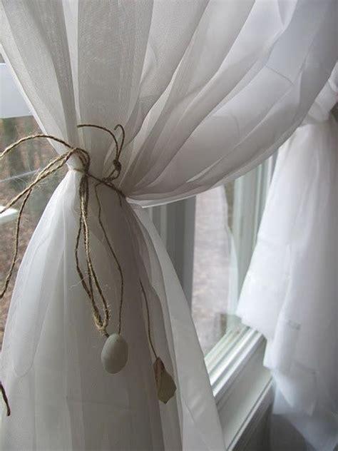 shell curtain tie backs esdedecoracion v 237 a pinterest zsazsa bellagio tumblr