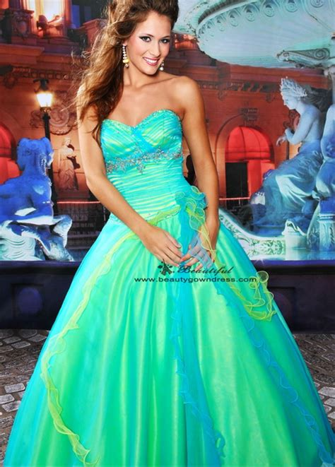 bright colored dresses neon colored gowns gown and dress gallery
