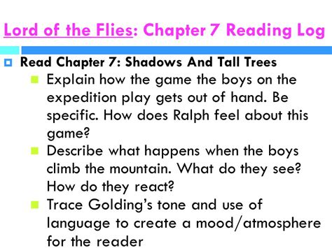 theme for chapter 11 in lord of the flies lord of the flies reading guide ppt video online download