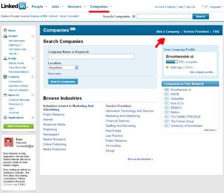 Search Profile By Email Jouw Bedrijfsprofiel Op Linkedin