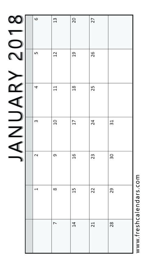 horizontal calendar template template horizontal calendar template