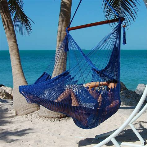 Hammock Usa caribbean hammocks chair large blue by the caribbean