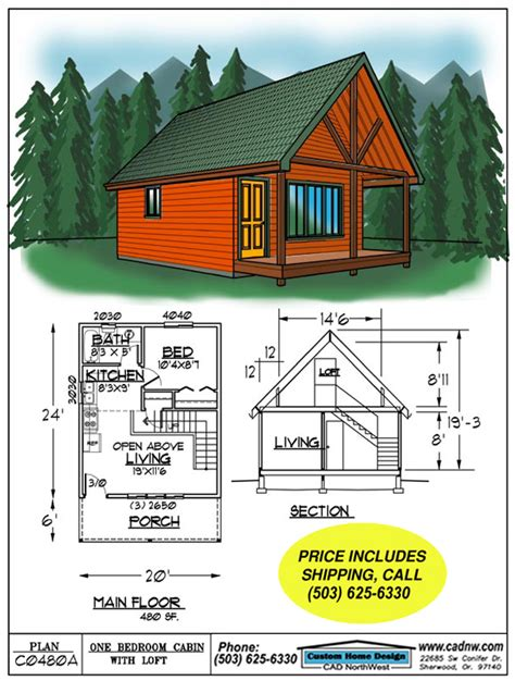 Lake Cottage Plans With Loft | foundation options for a cabin joy studio design gallery best design