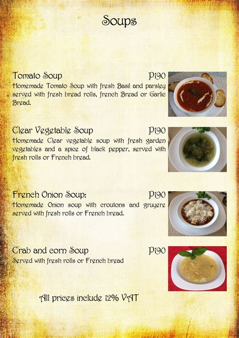 soup kitchen menu ideas soup menu pictures to pin on pinsdaddy