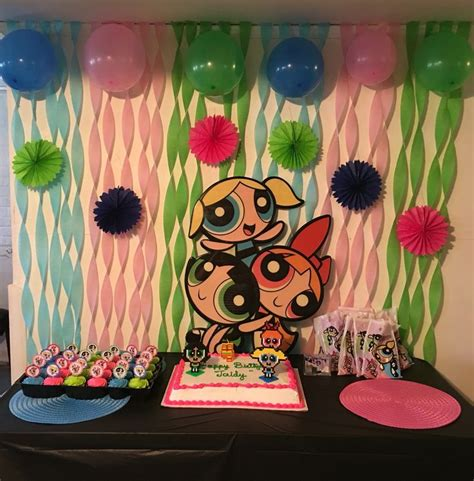 Powerpuff Girls Birthday Party My Pinterest Inspired | powerpuff girls birthday party my pinterest inspired