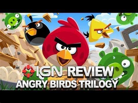 Wii U Angry Birds Trilogy Berkualitas angry birds trilogy jeu wii u images vid 233 os astuces et avis