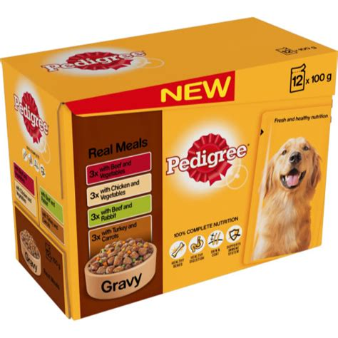 Pedigree Pouch pedigree pouch real meals in gravy food from 163 3 49