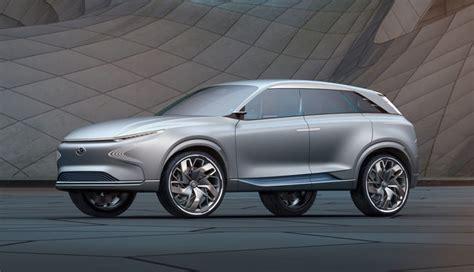 Brennstoffzelle Auto Pdf by Hyundai Zeigt Wasserstoff Elektroauto Fe Fuel Cell Concept