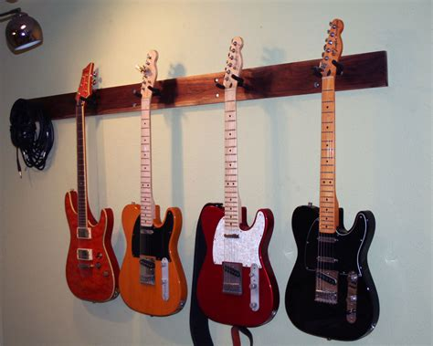 Multi Guitar Wall Rack by Guitar Wall Hanger