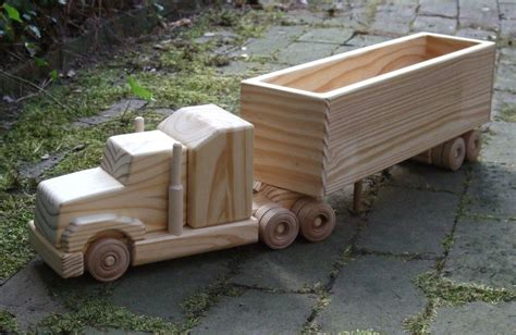 wooden pickup truck building wooden toy trucks
