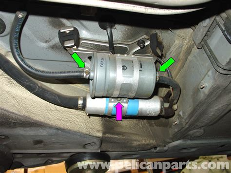 mercedes w210 fuel filter replacement 1996 03 e320