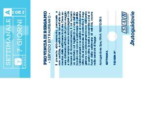 abbonamento interni tariffe a zone della provincia di bergamo autoguidovie