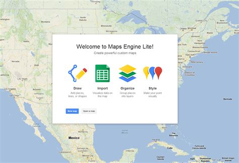 maps engine lite maps engine lite is a simple tool for creating