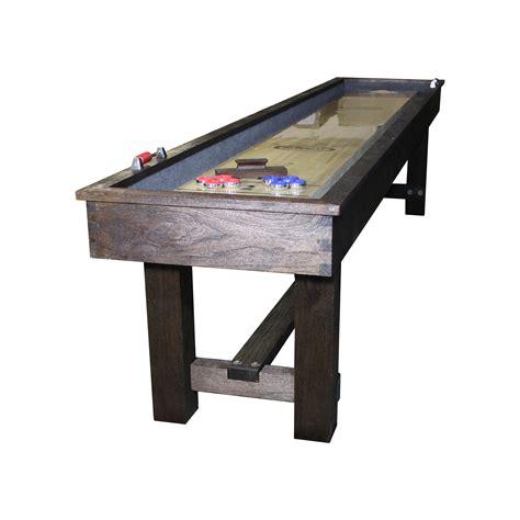 12 imperial reno rustic shuffleboard table shuffleboard net