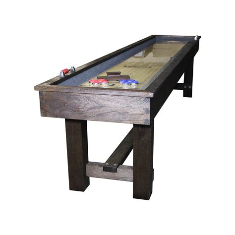 rustic shuffleboard table 12 imperial reno rustic shuffleboard table shuffleboard net