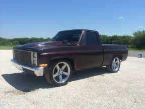 1984 custom chevy c10 silverado up truck for sale