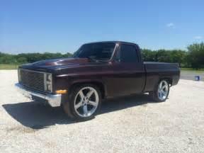 1984 custom chevy c10 silverado up truck for sale