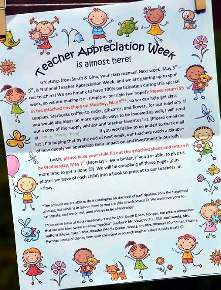 appreciation week 2012 letter to parents how to rock appreciation week part 1 cclem