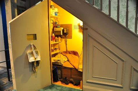 bedroom under the stairs harry s bedroom under the stairs picture of warner bros