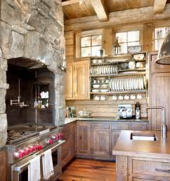 Stone Kitchens Design 18 Lovely Kitchen Design Ideas With Stone Walls