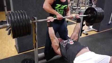 bench press vs body weight bench press 230kg 507 lbs raw doovi