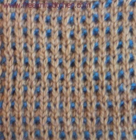 knitting with two colors two color knitting patterns two coloured basket