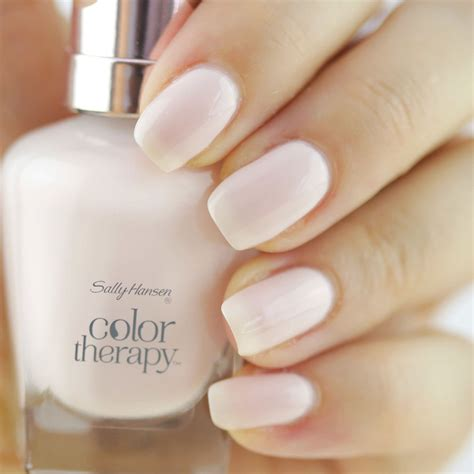 color sallys sally hansen color therapy nail in sheer nirvana