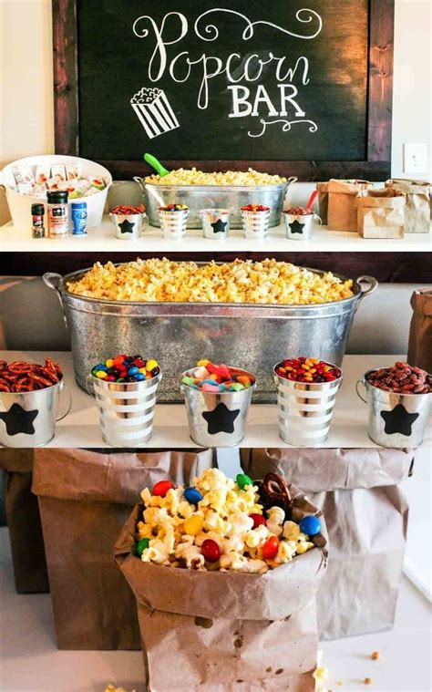 Bar Giveaway Ideas - ultimate popcorn bar popcorn bar diy party ideas and popcorn