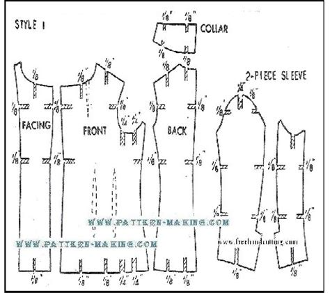 jacket pattern grading how to grade jacket and coat pattern making com