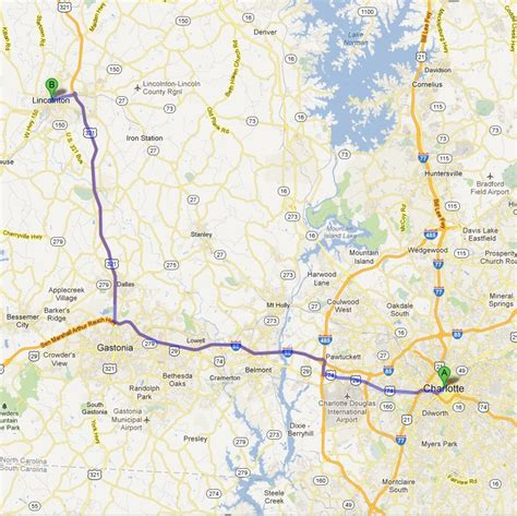 directions to abernethy cjdr in lincolnton from nc