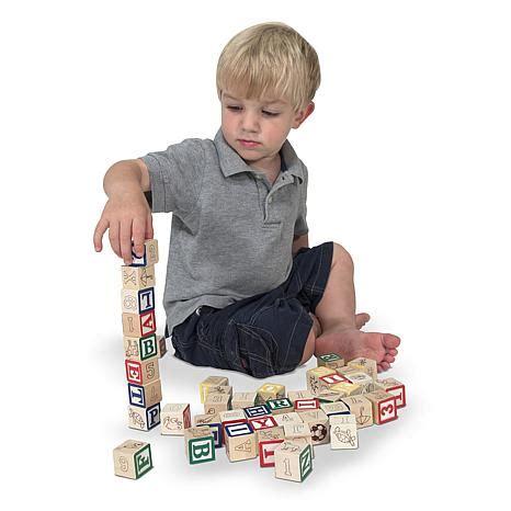 Doug Abc123 Wooden Blocks doug wooden abc 123 blocks 6987436 hsn