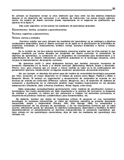 Mauritz Johnson Modelo Curriculo Diaz Barriga Aproxima 1