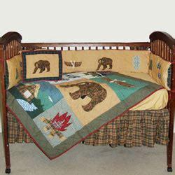 Cabin Crib Bedding by Cabin Crib Bedding By Patch Magic