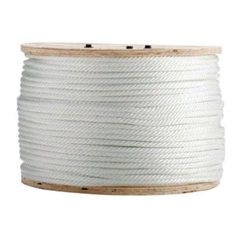boen 3 8 in x 600 ft solid braided rope bulk in br