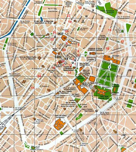 map of central brussels map brussels hotels city center brussels hotels brussels