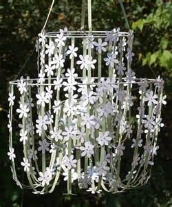 Paper Flower Chandelier White Paper Flower Chandelier For The Home