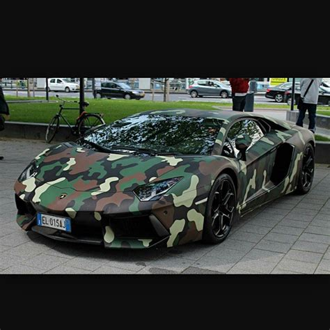 camo lamborghini aventador camouflage car on instagram