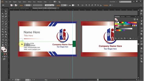 business card template for illustrator cs6 how to design a sided business card in adobe