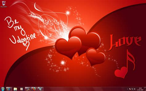 valentines themes s theme for windows 7