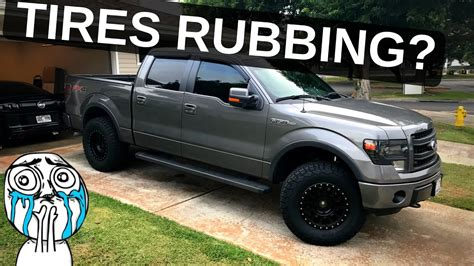 Ford Fit by Tire Rub How To Fit 35 Quot Tires On Your F 150