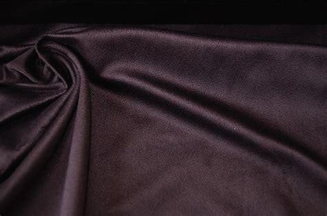 aubergine innen braun dekostoff kleiderstoff aubergine braun wildleder optik 0906